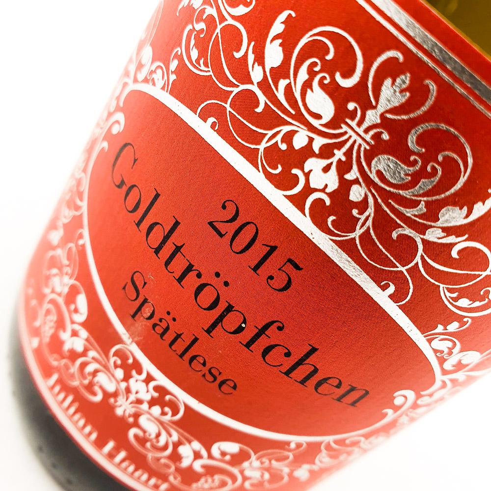Weingut Julian Haart Goldtröpfchen Spätlese 2015