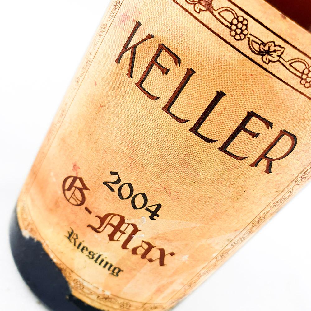 Weingut Keller G-Max 2004 (damaged label)