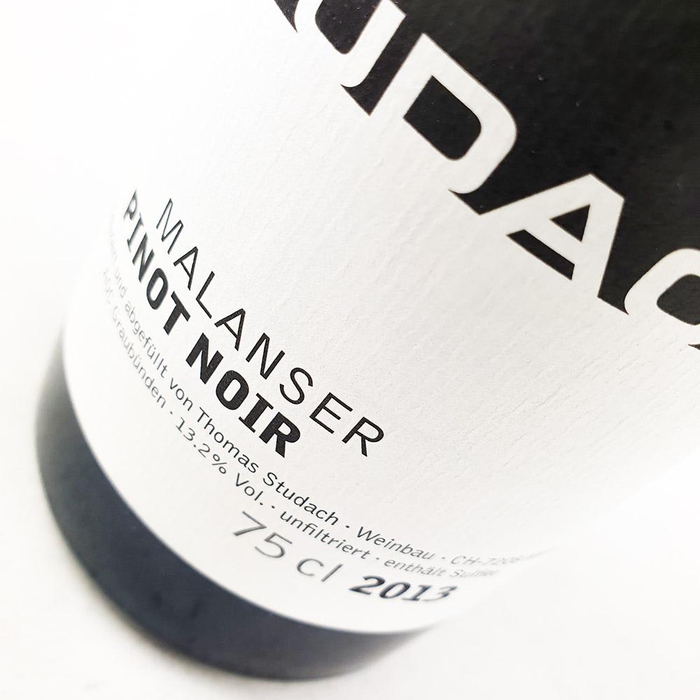 Thomas Studach Malanser Pinot Noir 2013