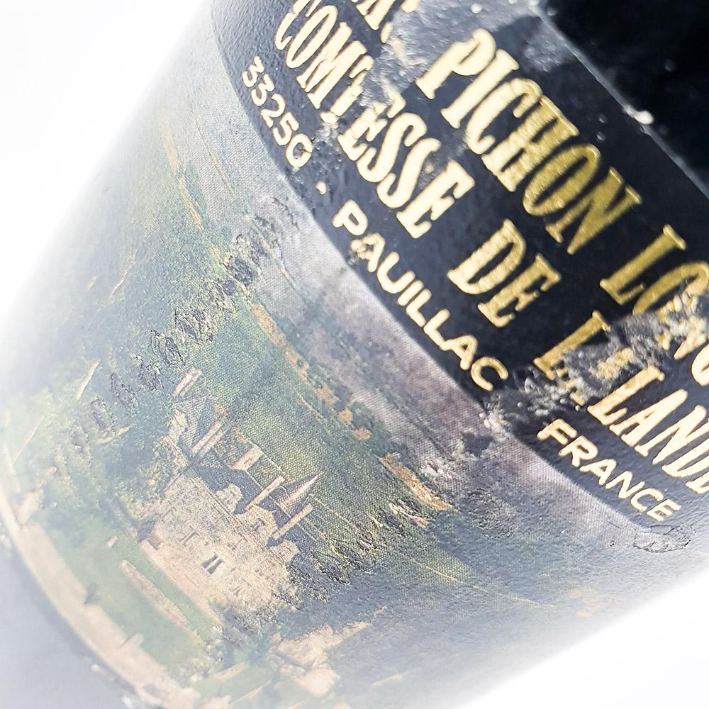 Chateau Pichon Longueville Comtesse de lalande 1989 (Label)