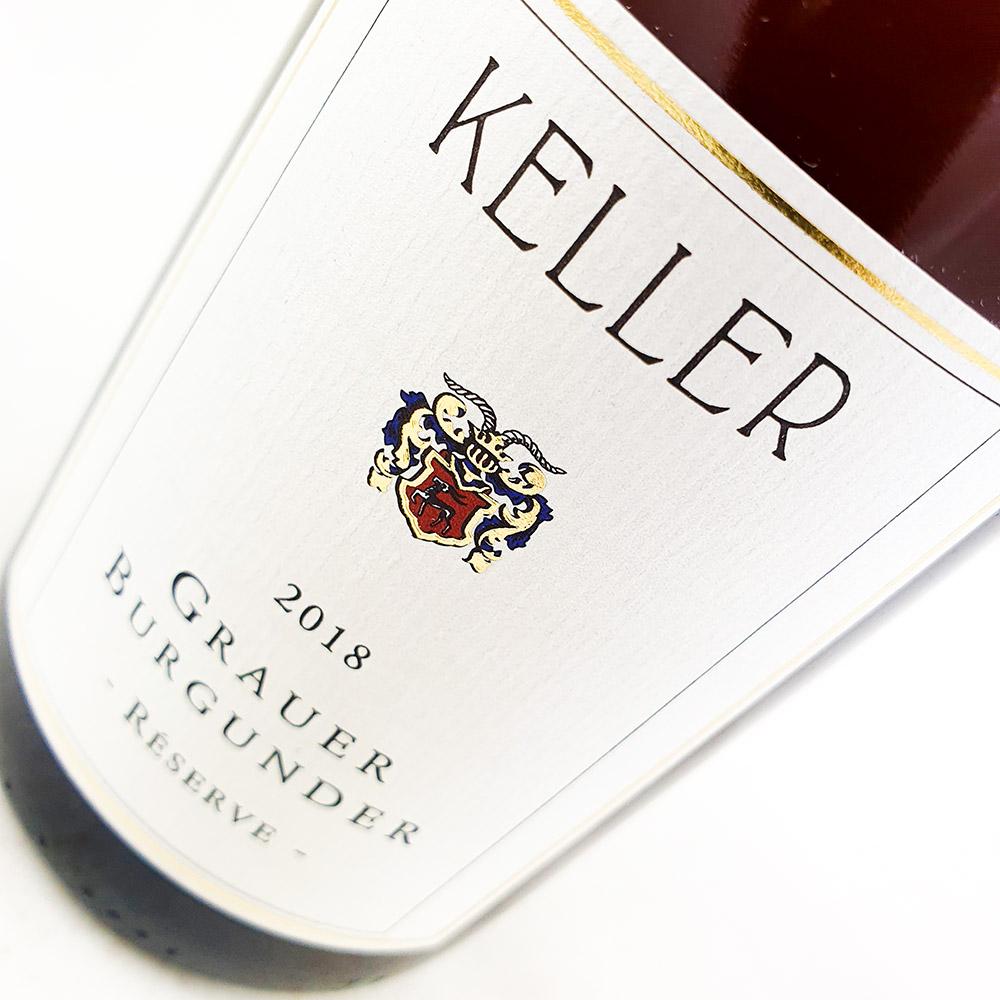 Weingut Keller Grauer Burgunder Reserve 2018