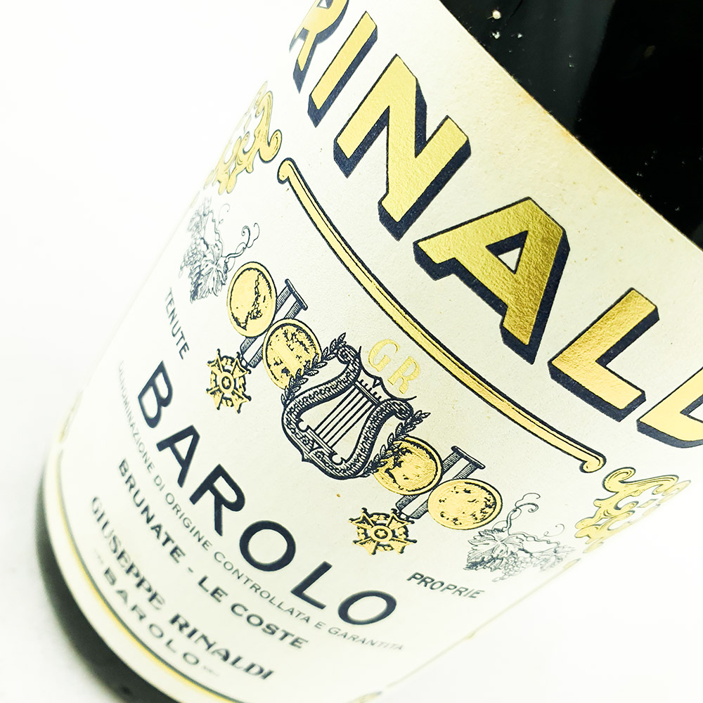 Giuseppe Rinaldi Barolo Brunate Le Coste 2001