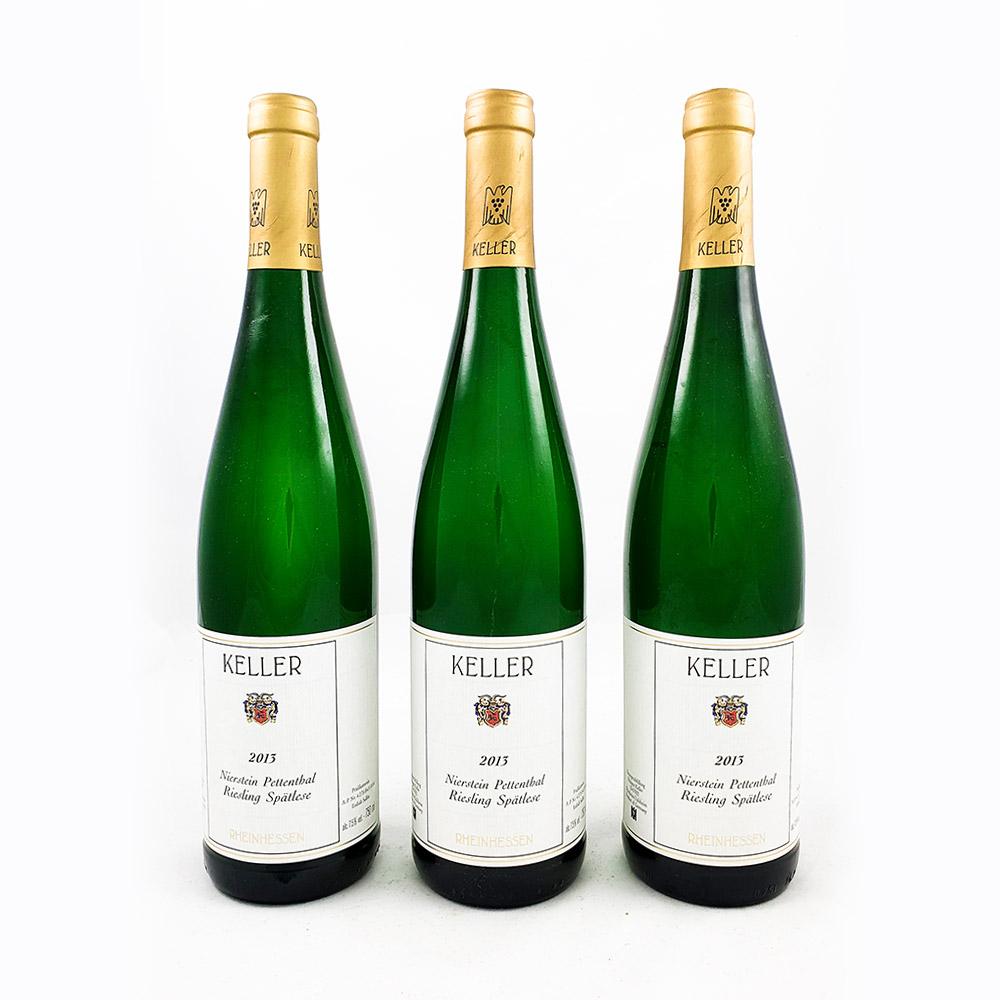 LOT #79 - 3 x Weingut Keller Pettenthal Spätlese Goldkapsel 2013