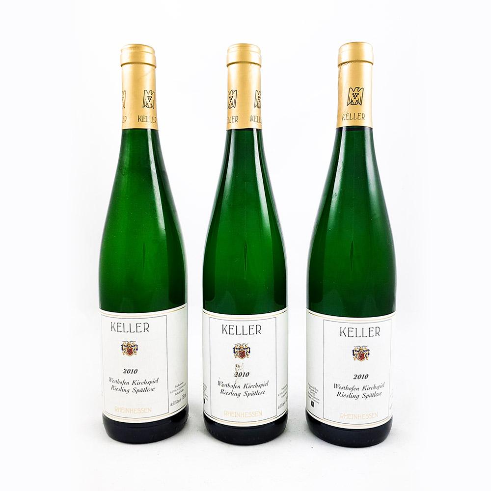 LOT #64 - 3 x Weingut Keller Kirchspiel Spätlese Goldkapsel 2010