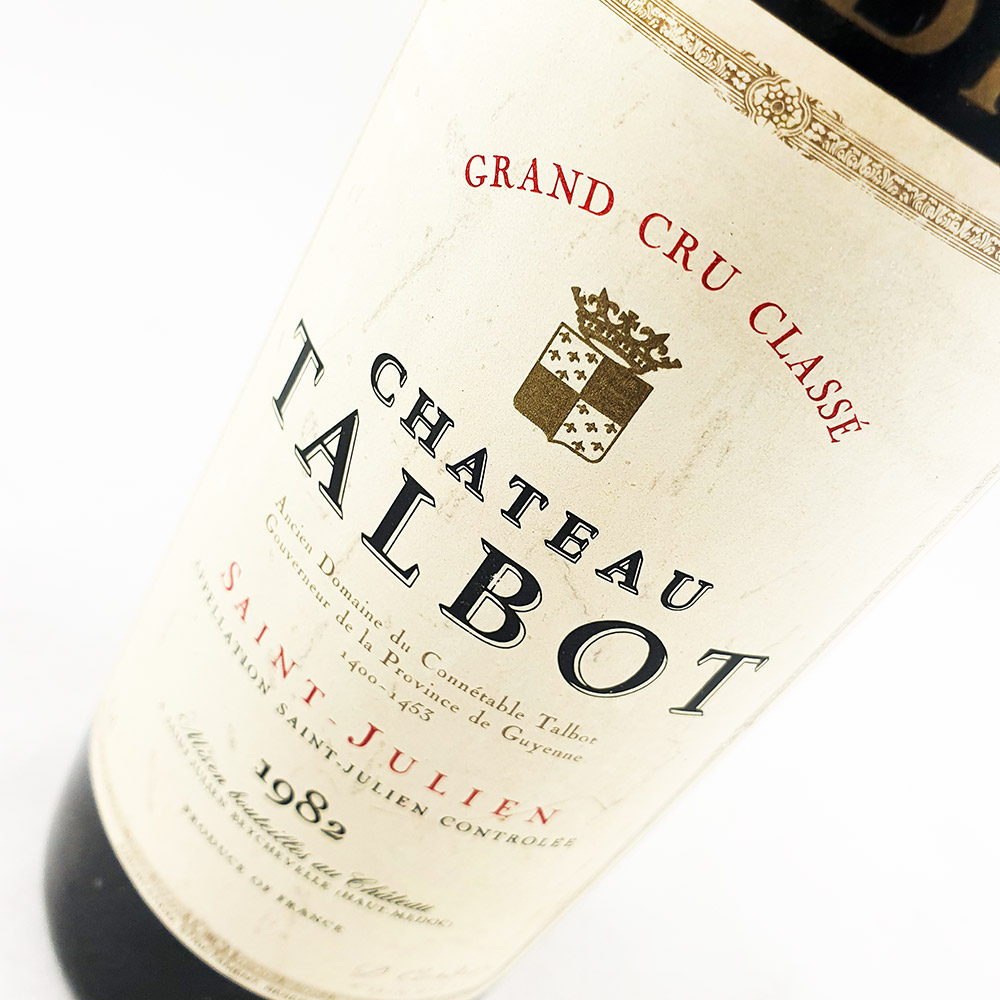 Chateau Talbot 1982