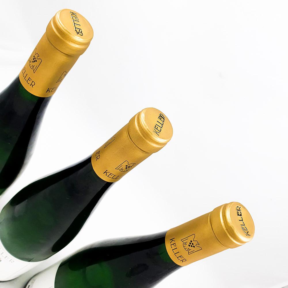 LOT #76 - 3 x Weingut Keller AbtsE Spätlese Goldkapsel 2016